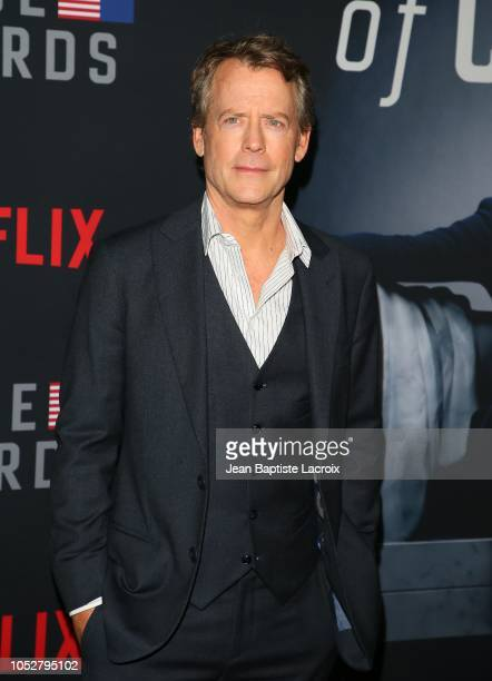 Greg Kinnear attends 'House of Cards' Season 6 World Premiere on October 22 2018 in Los Angeles California