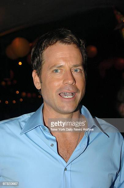 "Greg Kinnear attends the after-party following the New York premiere of the movie ""Little Miss Sunshine"" at the 79th St. Boat Basin. He stars in the..."