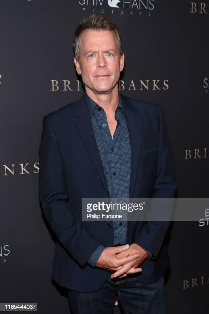 "Greg Kinnear attends the Los Angeles special screening of Bleeker Street's ""Brian Banks"" at Edwards Long Beach Stadium 26 & IMAX on July 31, 2019 in..."