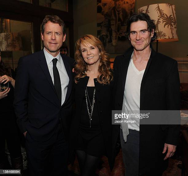 Greg Kinnear Lea Thompson and Billy Crudup attend the after party for the Cinema Society Grey Goose screening of Thin Ice at the Soho Grand Hotel on...