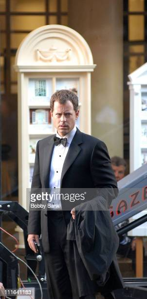 "Greg Kinnear on location for ""Ghost Town"" October 20, 2007 in New York."