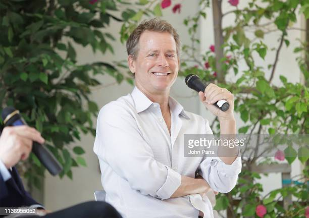 Greg Kinnear speaks during the 2019 Sarasota Film Festival on April 13, 2019 in Sarasota, Florida.