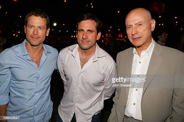 "Greg Kinnear, Steve Carell and Alan Arkin during 2006 Los Angeles Film Festival - ""Little Miss Sunshine"" After Party at Wadsworth Theater in..."