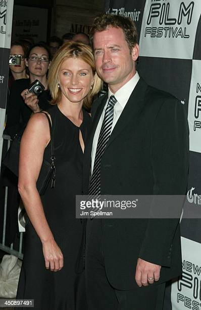Greg Kinnear wife Helen Labdon during 40th New York Film Festival Screening of Auto Focus at Alice Tully Hall in New York New York United States