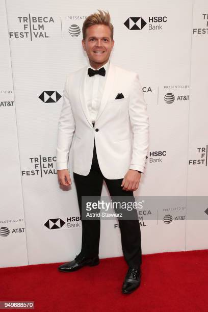 """Greg Kriek attends the screening of """"The Serengeti Rules"""" during the 2018 Tribeca Film Festival at Cinepolis Chelsea on April 21, 2018 in New York..."""