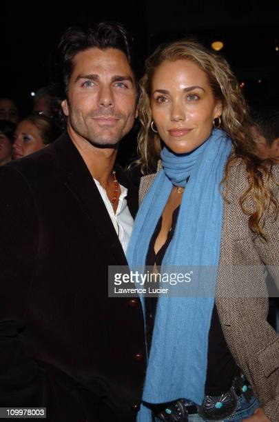 Greg Lauren and Elizabeth Berkley during 4th Annual Tribeca Film Festival - Special Thanks To Roy London World Premiere - Arrivals at Regal Cinemas...