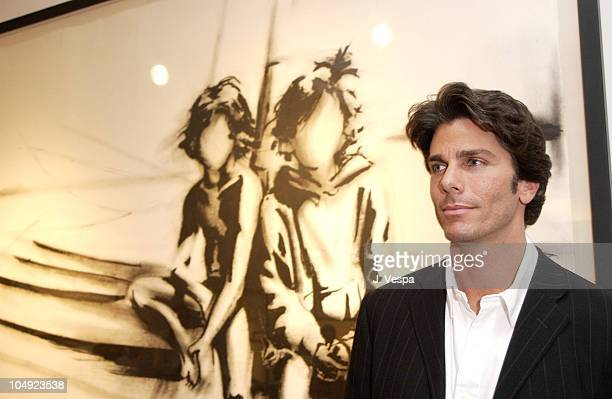 Greg Lauren during Greg Lauren Art Show Opening at Stricoff Fine Art Gallery in New York City New York United States
