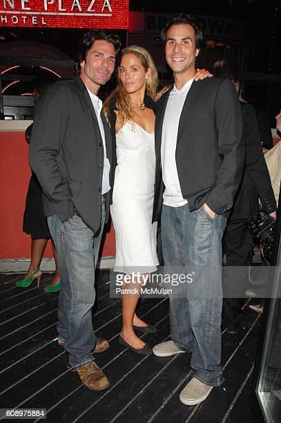Greg Lauren, Elizabeth Berkley and Ben Silverman attend BEN SILVERMAN, ERIC HADLEY, and CHARLIE WALK host THE NETWORK UPFRONTS dinner at Spotlight...