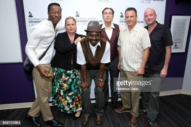 Greg Lee Persephone 'Queen PÓ Laird Junor Francis Joey Altruda Luis Correa and Brian Dixon attend History of LA Ska at The GRAMMY Museum on September...