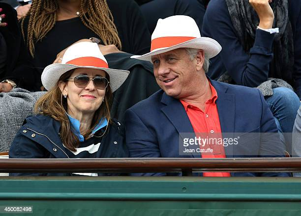 Greg Lemond and his wife Kathy Lemond attend Day 11 of the French Open 2014 held at Roland-Garros stadium on June 4, 2014 in Paris, France.