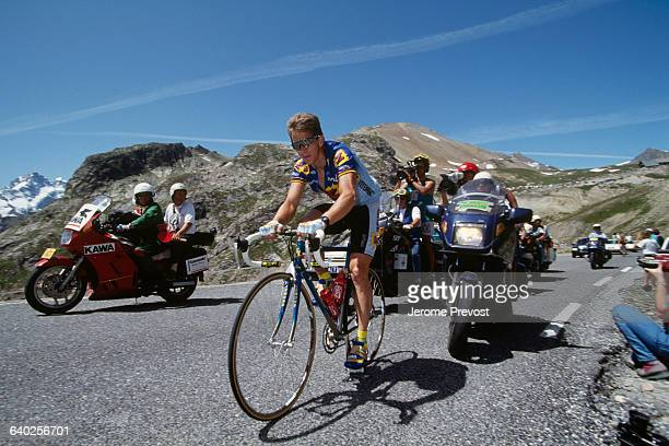 Greg Lemond from the USA during the 1992 Tour de France.