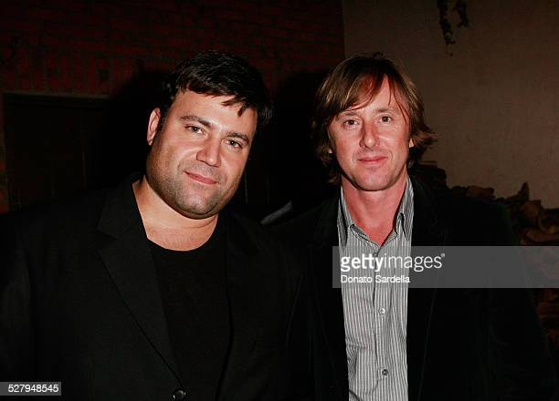 Greg Link and actor Jake Weber attend the Lucky Guide to Mastering Any Style launch on October 2 2008 in Los Angeles California