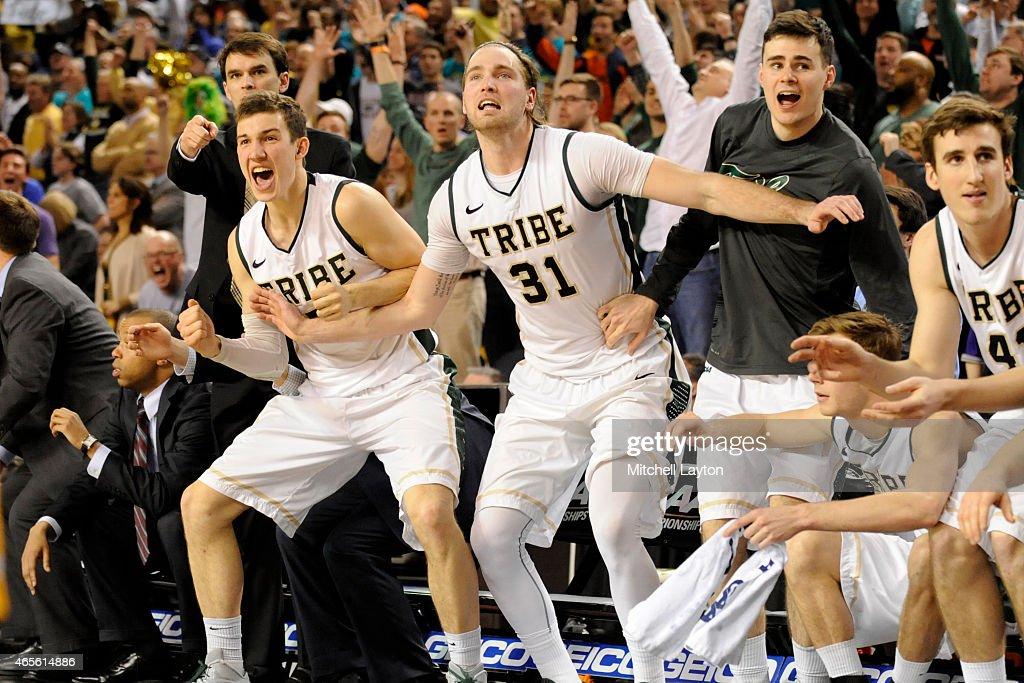 CAA Basketball Tournament  -Semifinals Hofstra v William & Mary : News Photo