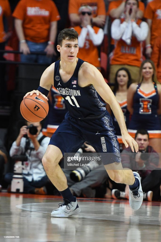 Georgetown v Illinois : News Photo