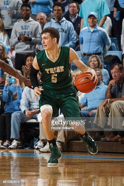 Greg Malinowski of the William and Mary Tribe plays against the North Carolina Tar Heels on December 30 2014 at the Dean E Smith Center in Chapel...