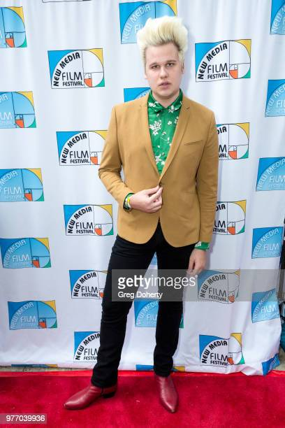 Greg Mania attends the 9th Annual New Media Film Festival at James Bridges Theater on June 16 2018 in Los Angeles California