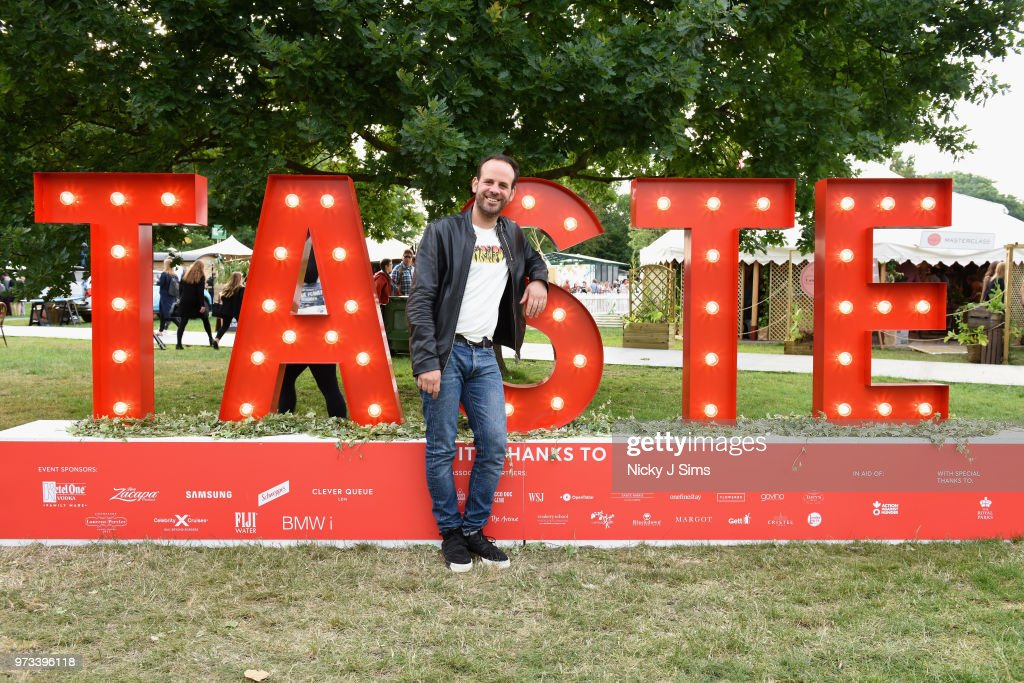 Greg Marchand at the opening night of Taste of London (running 13th-16th June) at Regents Park on June 13, 2018 in London, England.
