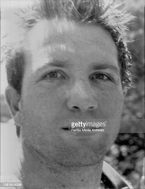 Greg Martin 1989 Wallaby Rugby Union Side training at Primrose Park at Cammeray October 03 1989