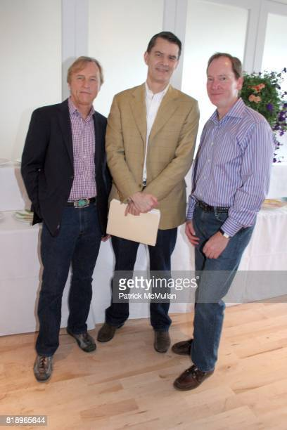 Greg McCarthy George McNeely and Peter Bickford attend MIRACLE HOUSE 20th Anniversary Memorial Day Summer Kickoff Benefit honoring Amy Chanos and Jim...