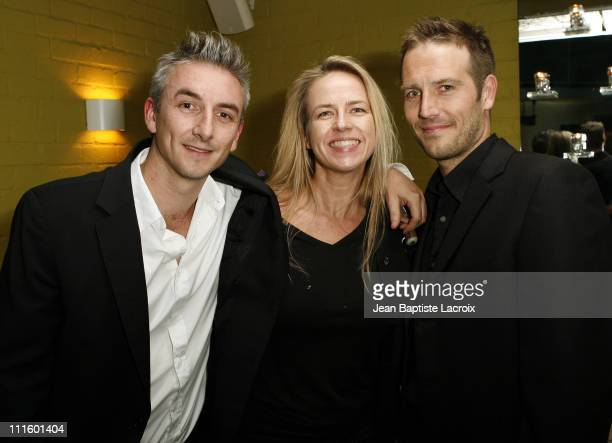Greg McLean Michael Vartan and guest during Australians in Film 2007 Breakthrough Awards Inside at Avalon Hotel in Beverly Hills California United...