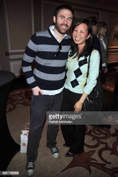 Greg Mirman and Christine Byun attend Party For KERI GLASSMAN O2 DIET Book at Regency Hotel on January 26 2010 in New York City