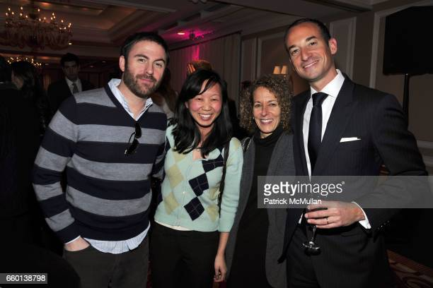 Greg Mirman Christine Byun Susan Schackman and Ken Slotnick attend Party For KERI GLASSMAN O2 DIET Book at Regency Hotel on January 26 2010 in New...