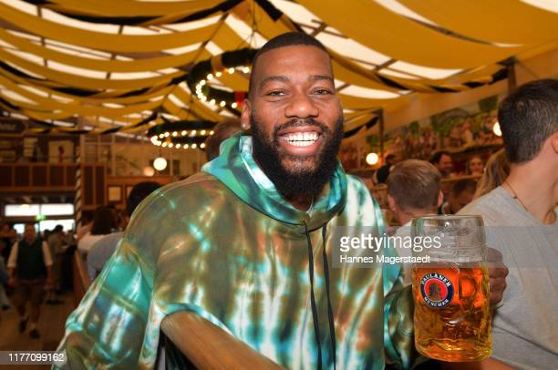Greg Monroe attends the FC Bayern Basketball Wiesn at the Paulaner Festzelt during the Oktoberfest at Theresienwiese on September 25 2019 in Munich...