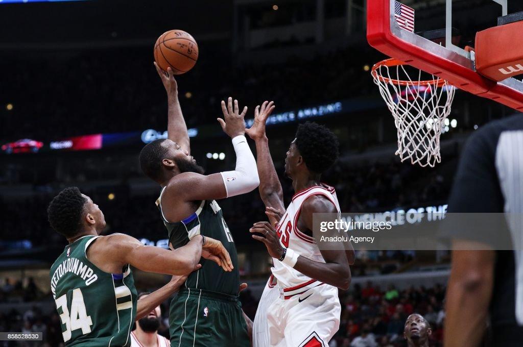 Chicago Bulls vs Milwaukee Bucks : News Photo