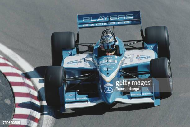 Greg Moore of Canada drives the Player's Forsythe Racing Reynard 99iMercedes during the Championship Auto Racing Teams 1999 FedEx Championship Series...