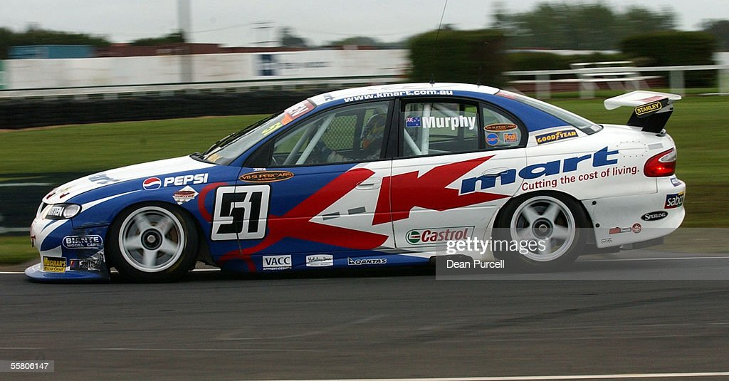 Greg Murphy from KMart Racing Team in action durin Pictures | Getty ...