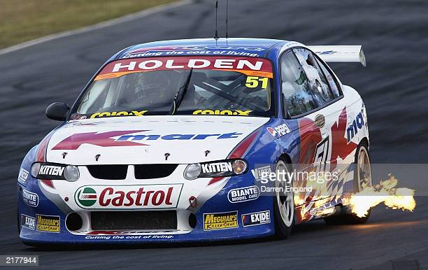 Greg Murphy of the KMart racing team Holden Commodore in action during the Big Pond 300 which is round 7 of the 2003 V8 Supercars Championship Series...