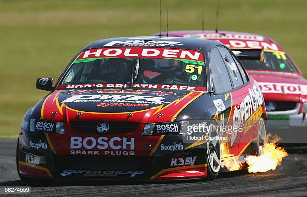 Greg Murphy of the Super Cheap Auto Racing Team in action during race one of the final round of the V8 Supercar Championship Series at the Phillip...