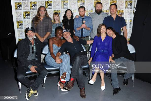 Greg Nicotero Gale Anne Hurd Angela Kang Yvette Nicole Brown Scott M Gimple Robert Kirkman David Alpert Jeffrey Dean Morgan Danai Gurira Andrew...
