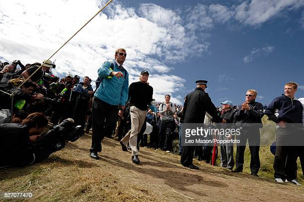 Greg Norman during the 2008 The Open Championships at Royal Birkdale in Southport, England, UK.