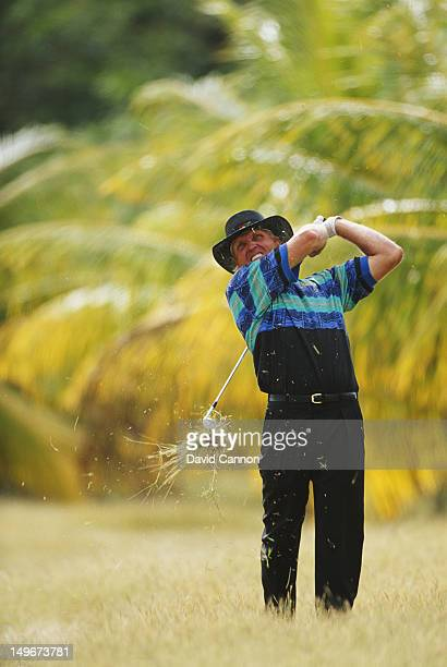 Greg Norman of Australia during the Johnnie Walker World Golf Championship on 19th December 1991 at the Tryall Golf Club in Hanover Parish Jamaica