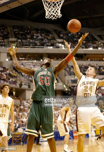 Greg Odenseen here in the Indiana High School class 4A state championships of Lawrence North High School in Indianapolis Indiana
