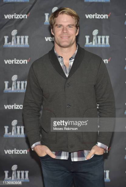 """Greg Olsen attends the world premiere event for """"The Team That Wouldn't Be Here"""" documentary hosted by Verizon on January 31, 2019 in Atlanta,..."""