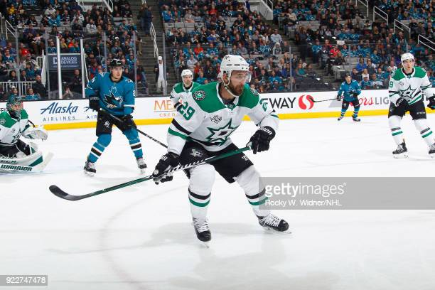 Greg Pateryn of the Dallas Stars skates against the San Jose Sharks at SAP Center on February 18 2018 in San Jose California