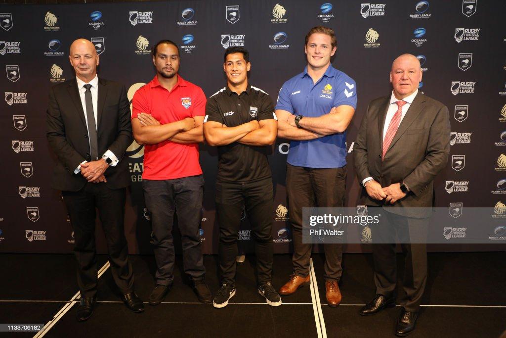 New Zealand International Rugby League 2019 Calendar Announcement : News Photo
