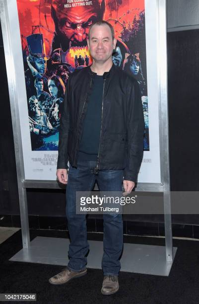 Greg Plotkin attends a special screening of CBS Films and Lionsgate's Hell Fest at TCL Chinese 6 Theatres on September 27 2018 in Hollywood California