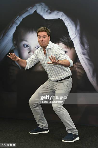 Greg Poehler attends a photocall for the 'Welcome to Sweden' TV series on June 16 2015 in MonteCarlo Monaco