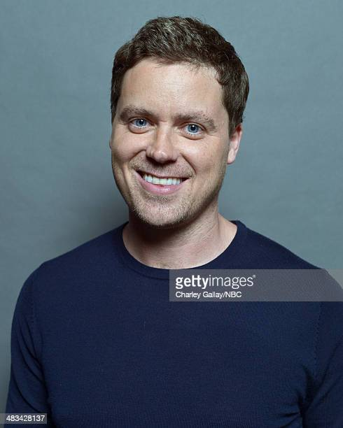 Greg Poehler poses for a portrait during the 2014 NBCUniversal Summer Press Day at The Langham Huntington on April 8, 2014 in Pasadena, California....