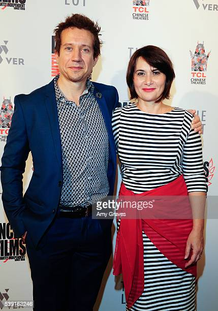Greg Powell and Clara Voda attend the Dances With Films Festival 'PopUp' Premiere on June 9 2016 in Los Angeles California