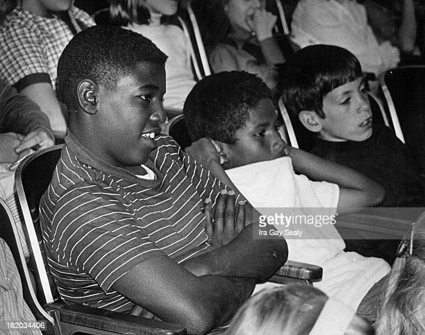 OCT 15 1970 OCT 30 1970 DEC 2 1970 Greg Reed Johnny DeLeon and Brad McClain left to right all sixth graders at Ashley Elementary concentrate on the...
