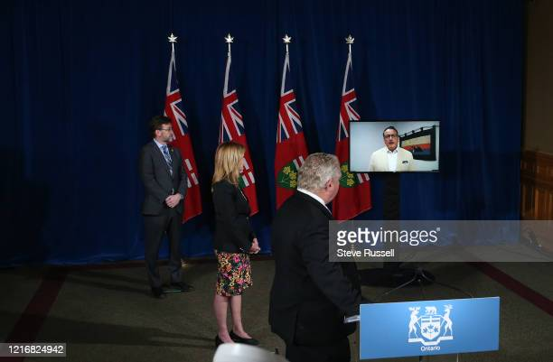 TORONTO ON JUNE 1 Greg Rickford Minister of Energy Northern Development and Mines and Minister of Indigenous Affairs speaks via Kenora in a briefing...