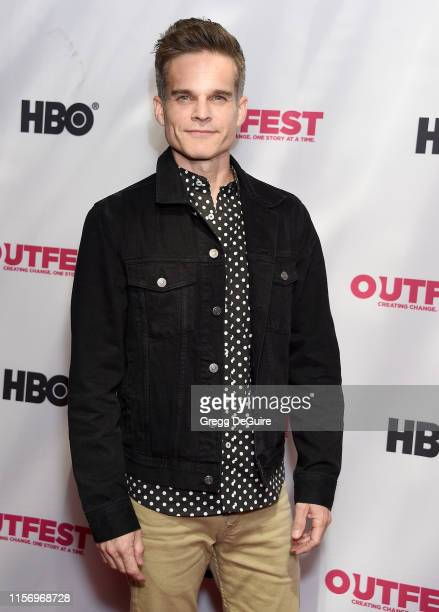 Greg Rikaart attends the 2019 Outfest Los Angeles LGBTQ Film Festival Screening Of Sell By at TCL Chinese Theatre on July 20 2019 in Hollywood...