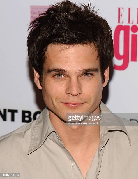 Greg Rikaart during ELLEGIRL's 1st Annual Hollywood Prom Arrivals at Hollywood Athletic Club in Hollywood California United States