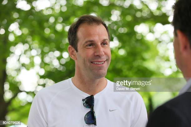 Greg Rusedski attends the Aspall Tennis Classic at The Hurlingham Club on June 30 2017 in London England