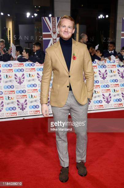 Greg Rutherford attends Pride Of Britain Awards 2019 at The Grosvenor House Hotel on October 28 2019 in London England