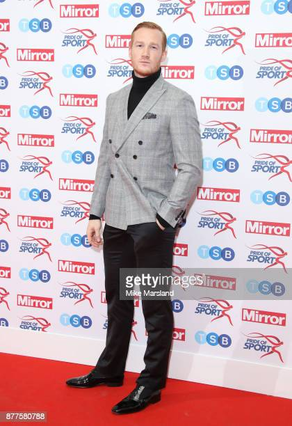 Greg Rutherford attends the Pride of Sport awards at Grosvenor House on November 22 2017 in London England